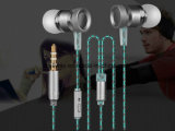 Good Price High Quality Metal Earphone with Microphone
