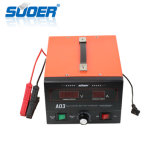 Suoer 12V/24V LCD Display Battery Charger