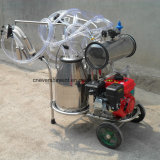 Cow Milking Machine Gasoline Powered Milker SS304 Double Buckets