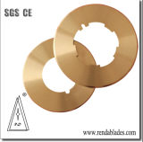 D2 Cardboard Thin Edge Slitting Circle Top Blade/Knife