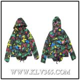 Designer Clothing Wholesale Women Fashion Winter Duck Down Padding Jacket with Hoody