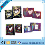 "Home Resin Photo Frame Picture Frame ""Shapre of Heart"""