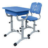 PP Plastic Height Adjusted Desk and Chair Set