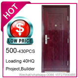 Low Price, Economy Cheap Steel Security Door for Project Building (EF-S018)