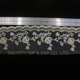 Fashion Net Yarn Embroidery Lace Soft Accessories Clothing Fabric Textile