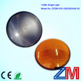 En12368 Certificated Hot Sale Full Ball LED Flashing Traffic Light Module with Clear Lens
