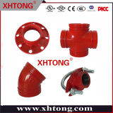 Ductile Iron Flanges, Elbows, Tees, Reducers, Pipes with FM/ UL/Ce/CCC Approved