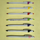 Supply Plastic Ball Pen with 0.7mm Point