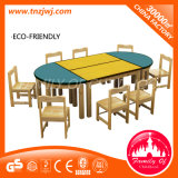 Preschool Table and Chairs Classroom Wooden Furniture