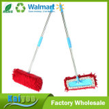 Wholesale Red Replaceable Chenille Floor Cleaning Flat Mop