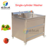 Single-Cylinder Fruit and Vegetable Bubble Ozone Washing Machine Red Date Cleaning Machine (TS-AZ)