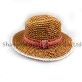 Ladies Summer Hats with Pearl New Straw Hats for Women Beach Sun Hats Floppy Sunhat