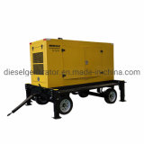 300kw Diesel Mobile Generator Trailer Generator Set Trailer Power Station