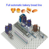 Full Automatic Industrial Bakery Bread Machine Food Processing Equipment for Loaf Toast Rusk Baking