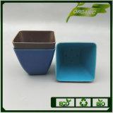 China Supplier Wholesale Cheap Price Bamboo Fiber Flower Pot