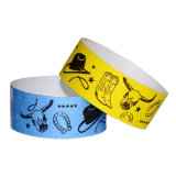 Disposable Smart Bracelets UHF Wristbands RFID Paper Wristband for Events