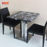 Modern Marble Solid Surface Table and Chairs for Food Court