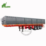 Container Transport 20FT 40FT Optional Truck Semi Towing Flatbed Wholesale Trailer
