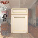 Modern White Lacquer Wood Kitchen Cabinet Door (GSP5-005)