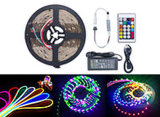 SMD5050 Best Quality Strip Lights Kit 60LEDs/M RGB LED Strip with Controller and Power Supply