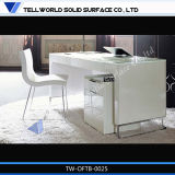 Acrylic Solid Surface Italian Marble CEO Desk Office Furniture