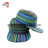 Fashion 5 Panel Flat Brim Hat (ZJ029)