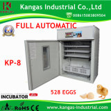CE Approved Automatic Chicken Egg Incubator for 528 Eggs