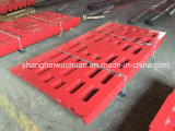 Jaw Dies Pegson Jaw Crusher Manganese Casting Steel Wear Spare Parts