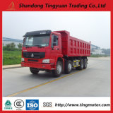 40-50 Tons Sinotruk HOWO Tipper 371HP for Congo Dr