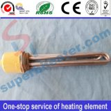 Threaded Heater with Round Flange Heating Element
