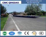 Cimc Port Use 20′/40′/45′/62′ Mafi Trailer with Gooseneck Truck Chassis