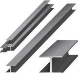 Widely Used Aluminum Profile Extruded Structural Aluminium Section I Beam