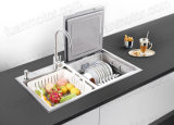 Double Bowl Sink with Dishwasher for Home Use