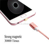Factory Wholesale Magnetic USB Cable Braided USB Charger Data Cable for Mobile Phone