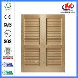 Composite Sliding Glass Vertical Wooden with Blinds Inside Doors