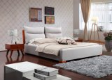 Modern Bed Leather Soft Bed (SBT-37)