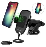 2018 World Cup Qi Wireless Charger Fast Charging Car Station Holder/Mount Smart Phone (W8)