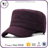 Custom Winter Warm Blank Wool Tweed Military Army Cap Wholesale