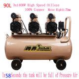 3X1400W Portable Silent Oil Free High Pressure Industrial Screw Air Compressor Pump