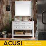 Waterproof White Solid Wood Modern Style Bathroom Furniture (ACS1-W76)
