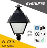 Everlite 60W LED Garden Light with CB Ce GS ENEC IEC RoHS Approved