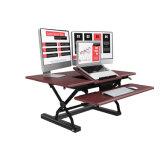 2018 New Ergonomic Height Adjustment Sit Stand Desk Converters Risers