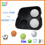 Wholesale 3D LFGB / FDA Silicone Ice Ball Maker Cube with Lid