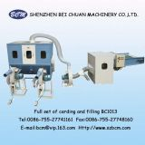 Fiber Carding and Filling Machine for Cushion