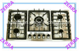 Five Burners Built in Gas Hob with Cast Iron Pan Support Kitchen Appliance (JZS4502A)
