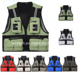 Outdoor Leisure Photography Advitising Angling Fishing Vest of New