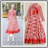 Designer Women Ladies Luxury Fashion Long Sleeve Party Evening Dress