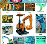 Hot Sale Cheap and High Quality 800kg Excavator with Changchai 7.5kw Engine