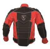 Mens Polyester Motoboy Motorcycle Garment with Ce Potector (MB08-T024J red)