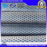 Plastic Coated Expanded Metal Mesh Fencing for Protecting